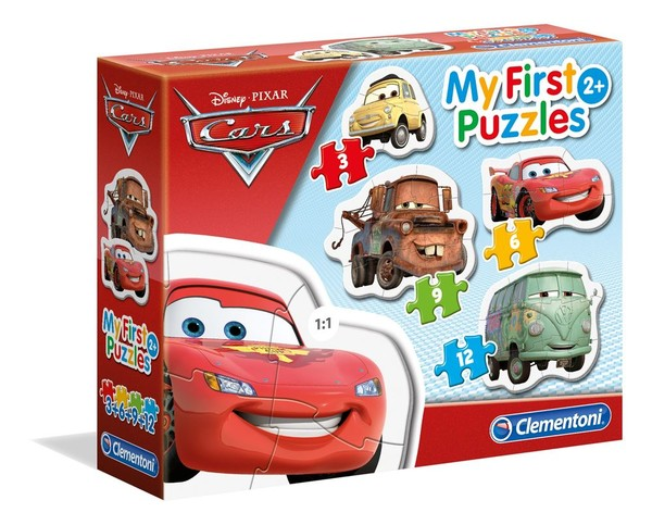 Cle-Puz. Cars 3 My First Puzzle