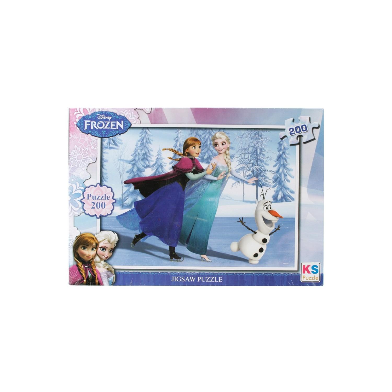 Ks 200 Parça Çocuk Puzzle Disney Frozen