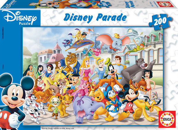 Educa 13289 200 Disney Parade Puzzle