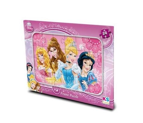Disney Princess - Frame Puzzle (Yapboz) 24 Parça