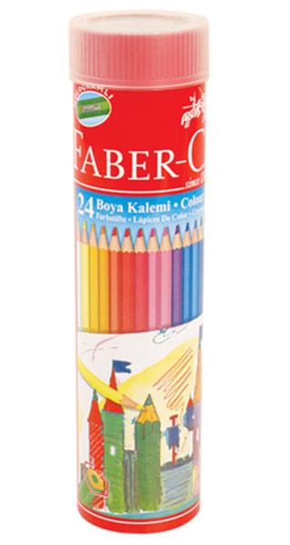 Faber-Castell Metal Tüpte Boya Kalemi 24 Renk
