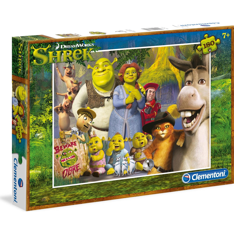 Clementoni 180 Parça Puzzle Shrek S.C.